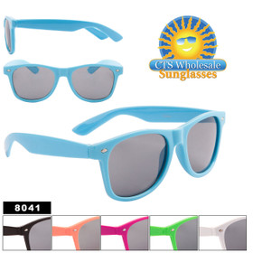 Wholesale California Classics Sunglasses - Style #8041 (Assorted Colors) (12 pcs.)
