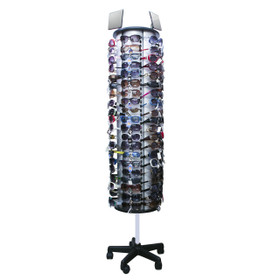 Floor Model Rotating Sunglass Display Rack ~ Holds 120 Pair ~ D007 (1 pc.)