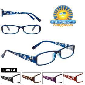 Reading Glasses with Rhinestones R9052