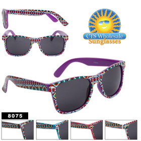 California Classics Sunglasses - Style #8075 (Assorted Colors) (12 pcs.)