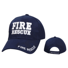 Wholesale Baseball Cap C1004 Fire Rescue Navy Blue