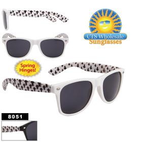 California Classics Sunglasses - 8051 Spring Hinge - (Assorted Colors) (12 pcs.)