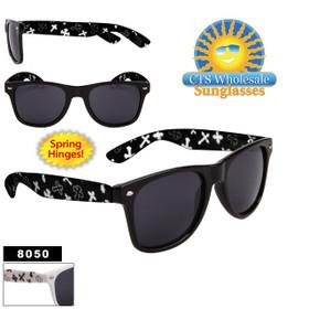 Cross California Classics Sunglasses - 8050 Spring Hinges ~ (Assorted Colors) (12 pcs.)