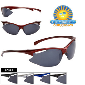 Cheap Wholesale Sunglasses - Style #8125 (12pcs.) (Assorted Colors)