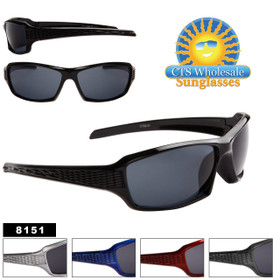 Cheap Wholesale Sunglasses - Style #8151 (Assorted Colors) (12 pcs.)