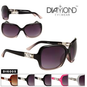Diamond™ Eyewear Rhinestone Sunglasses Wholesale - Style # DI6005