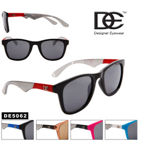 DE™ Designer Sunglasses by the Dozen - DE5062 (Assorted Colors) (12 pcs.)