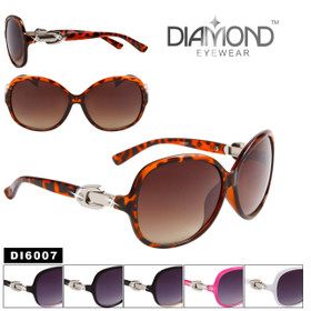 Wholesale Diamond™ Eyewear Sunglasses - DI6007 (Assorted Colors) (12 pcs.)