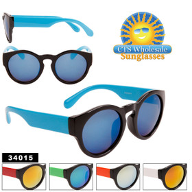 Lady Gaga Fashion Wholesale Sunglasses - Style #34015 (Assorted Colors) (12 pcs.)