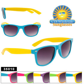 California Classics Sunglasses by the Dozen - Style #35010 (Assorted Colors) (12 pcs.)