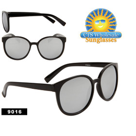 Bulk Mirrored Wholesale Sunglasses - Style #9016 (12 pcs.)