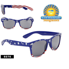 American Flag Sunglasses Wholesale - Style #6076