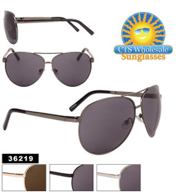 Large Aviator Sunglasses - Style #36219 (Assorted Colors) (12 pcs.)