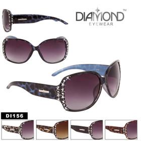 Diamond™ Eyewear Bulk Rhinestone Sunglasses - Style #DI156