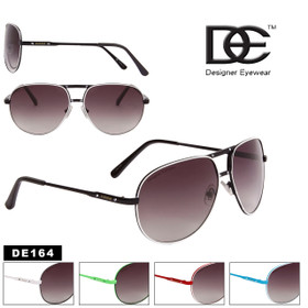 Wholesale DE™ Aviators - Style #DE164 (Assorted Colors) (12 pcs.)