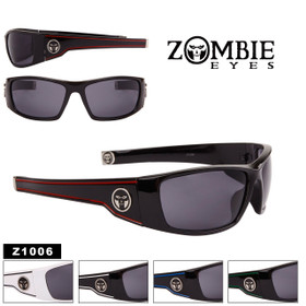 Men's Zombie Eyes™ Designer Sunglasses - Style #Z1006 (Assorted Colors) (12 pcs.)