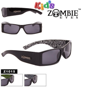 Zombie Eyes™ Wholesale Kid's Designer Sunglasses - Style #Z1015 (Assorted Colors) (12 pcs.)