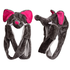 Wholesale Elephant with Long Arms Animal Hat A116 (1 pc.)