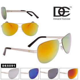 Wholesale DE™ Aviators - Style #DE5091 (Assorted Colors) (12 pcs.)