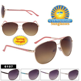 Wholesale Aviator Sunglasses - Style #6107