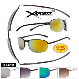 Xsportz™ Men's Bulk Metal Sport Sunglasses - Style #XS612