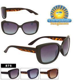 Subtle Cat Eye Fashion Sunglasses - Style #875