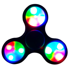LED Fidget Spinners LFS (12 pcs) Black