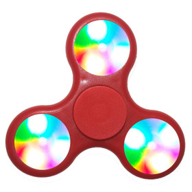 LED Fidget Spinners LFS (12 pcs) Red