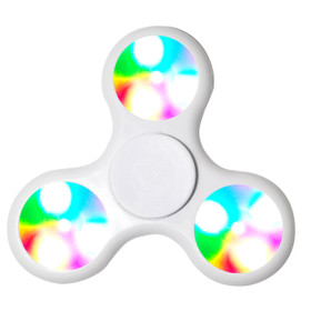 LED Fidget Spinners LFS (12 pcs) White