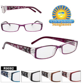 Bulk Plastic Reading Glasses - R9092