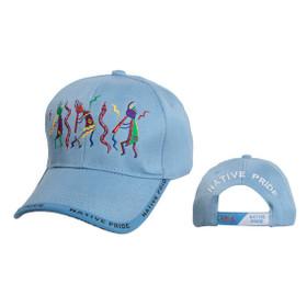 Snake Dance Native Pride Cap Wholesale-Light Blue