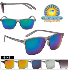 Bulk Mirrored Sunglasses 6142