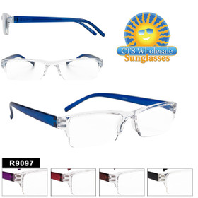 Cheap Reading Glasses - R9097 (12 pcs.) Assorted Colors ~ Lens Strengths +1.00—+3.50