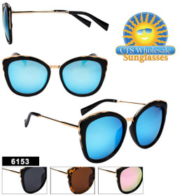 Bulk Women's Fashion Sunglasses - Style #6153