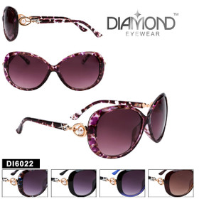 Diamond™ Rhinestone Sunglasses - DI6022 (Assorted Colors) (12 pcs.)