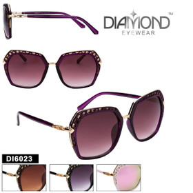 Diamond™ Eyewear Fashion Sunglasses - DI6023 (Assorted Colors) (12 pcs.)
