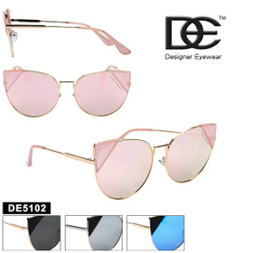 Cat Eye Women's DE™ Designer Eyewear - Style #DE5102 (Assorted Colors) (12 pcs.)