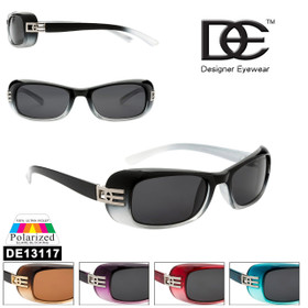Women's Polarized Sunglasses by DE™ DE13117 (Assorted Colors) (12 pcs.)