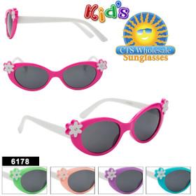 Wholesale Kid's Sunglasses - Style #6178