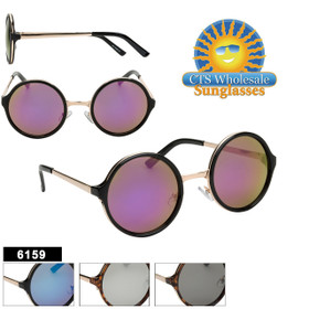 Wholesale Sunglasses - Style #6159 (Assorted Colors) (12 pcs.)