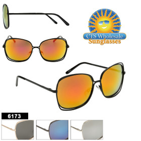 Bulk Sunglasses - Style #6173 (Assorted Colors) (12 pcs.)