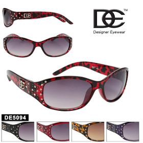 DE™ Rhinestone Sunglasses - Style #DE5094 (Assorted Colors) (12 pcs.)