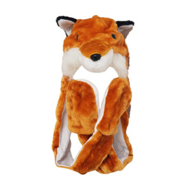 Wholesale Fox Animal Hat A119 (1 pc.)
