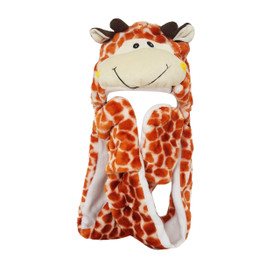 Wholesale Giraffe Animal Hat A120 (1 pc.)
