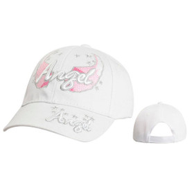 "Wholesale Kids Junior Sized Baseball Cap ""Angel"" C5218B (1 pc.)"