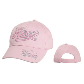 "Wholesale Kids Junior Sized Baseball Cap ""FOXY"" C5222B (1 pc.)"