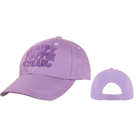 Happy Hippie Team Wholesale Baseball Caps Purple