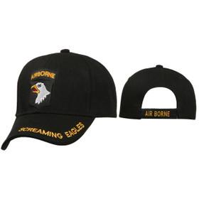 Military Baseball Caps Wholesale ~ C174 ~ Airborne Screaming Eagles