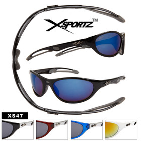 Xsportz™ Sports Sunglasses by the Dozen - Style # XS47