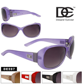 DE Designer Eyewear New Fashion Sunglasses DE597 (Assorted Colors) (12 pcs.)